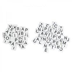 Lettres magnétiques capitales