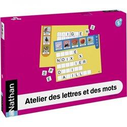 Atelier des lettres et des mots pour 4 enfants