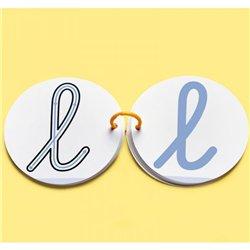 Digilettres cursives - Lot de 6
