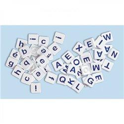 Pions-lettres majuscules/script