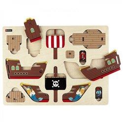 Première maquette - Le bateau pirate