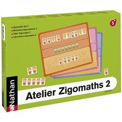 Atelier Zigomaths 2 pour 2 enfants - Les nombres de 7 à 12 : composer et décomposer les quantités