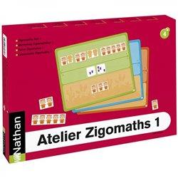 Atelier Zigomaths 1 pour 4 enfants - Les nombres de 3 à 6 : composer et décomposer les quantités