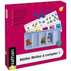 Atelier Boîtes à compter 1 pour 4 enfants