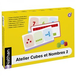 Atelier Cubes et Nombres 2 pour 4 enfants