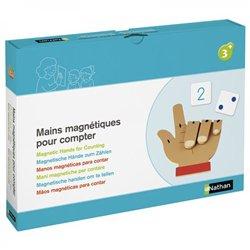 Mains magnétiques pour compter