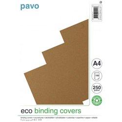 Couverture biodégradable 250 g 21x29.7 cm écru (Paquet de 100)