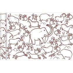 Papier spécial affiche Graffy Roll 90 g - Peinture préhistorique
