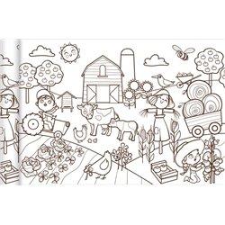 Papier spécial affiche Graffy Roll 90 g - Petit monde agricole