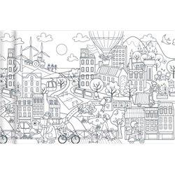 Papier spécial affiche Graffy Roll 90 g - Ville écologique