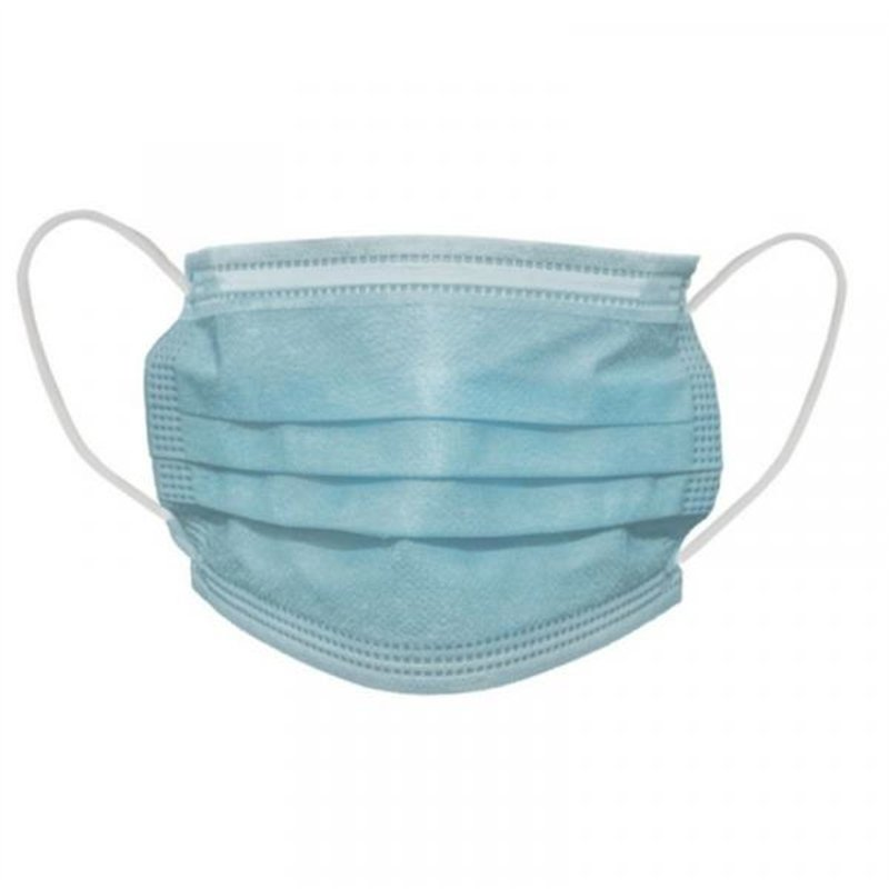 Masque chirurgical 3 plis (Lot de 50)
