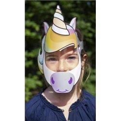 Visière de protection enfant masquée taille S entre 6 et 12 ans (lot de 3)