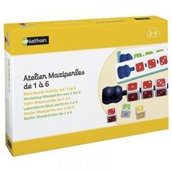 Atelier Maxiperles de 1 à 6 - Pour 4 enfants