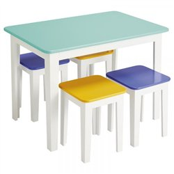 Table + 4 chaises Studio - Offre spéciale