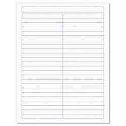 Cahier de vocabulaire 17x22 cm, 96 pages