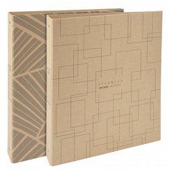 Classeur rigide en carton recyclé format 21 x 29.7 cm