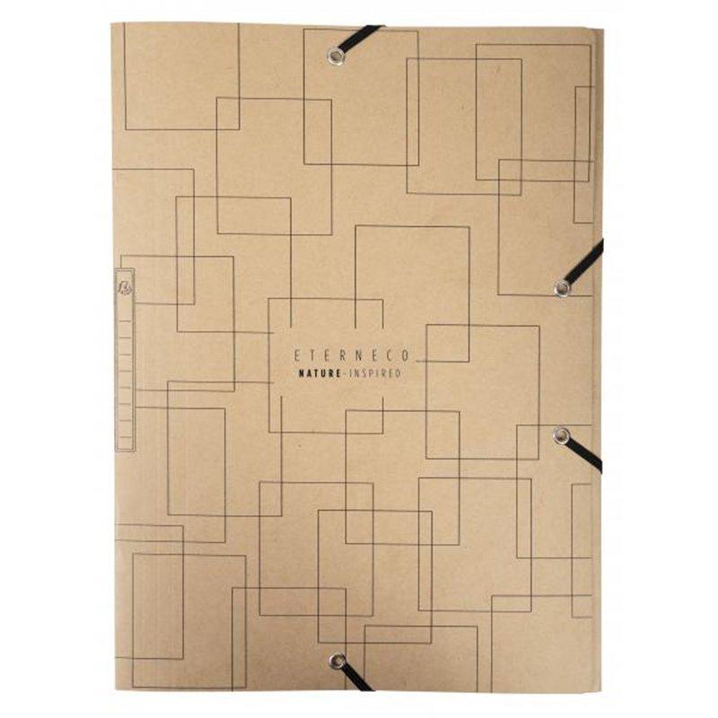 Chemise à élastique et rabats format 21 x 29.7 cm
