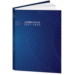 Agenda journalier couverture vernie piqûre 12,5 x 17,5 cm