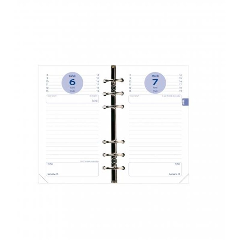 Recharge organiseur Timer 17