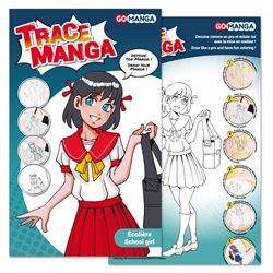 Graph'it trace-manga - Fille 'écolière'