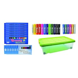schoolpack 144 bâtons de couleur