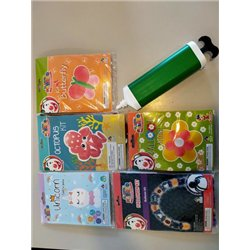 Set 5 créations ballons + pompe
