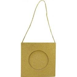 Mini-cadre carton encadrement rond