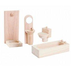 Salle de bain en bois naturel