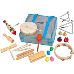 Ensemble de percussions - 19 instruments
