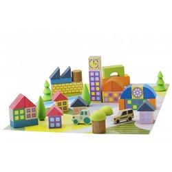 Jeu de construction Mini village