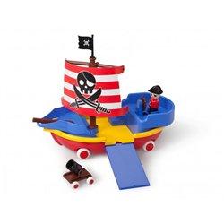 Boîte bateau pirate