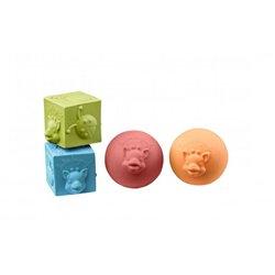 Set 2 balles & 2 cubes So'Pure
