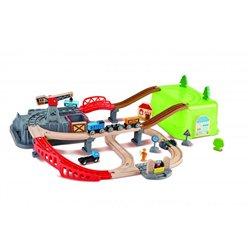 Railway bucket builder