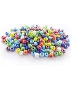 Perles mosaiques et tissage